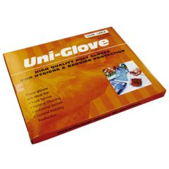 Plastic Disposable Gloves 15 Micron 100 Pack