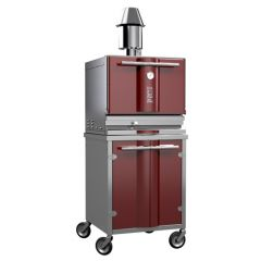 Kopa Type 400SW Charcoal Oven on Cabinet Base with Wheels