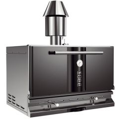 Kopa Type 500 Black Charcoal Oven on Open Stand