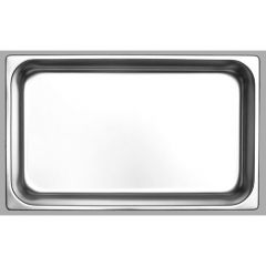 Delta Stainless Steel GN 1/1 Steam Pan