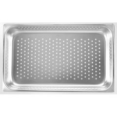 Delta Stainless Steel GN 1/1 Perforated Steam Pan