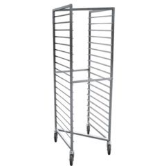 Stainless Gastronorm Trolley Z Frame to suit 2/1 Pans