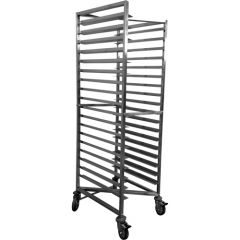 Stainless Bakers Trolley Z Frame for 16 inch trays