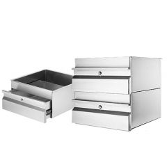 Simply Stainless Steel Drawer